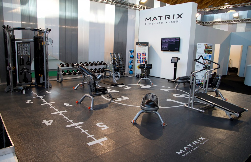 circuito fitness matrix fiera rimini 2012