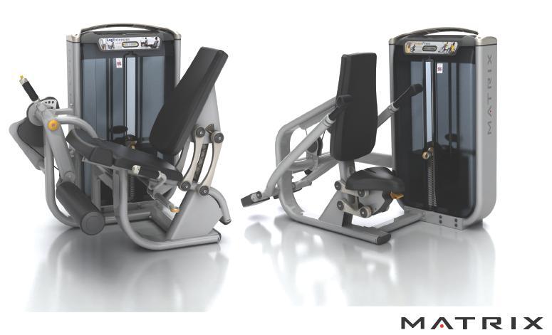 qr code posizionati su macchine isotoniche serie g7 matrix fitness