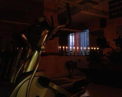 Fitness al buio