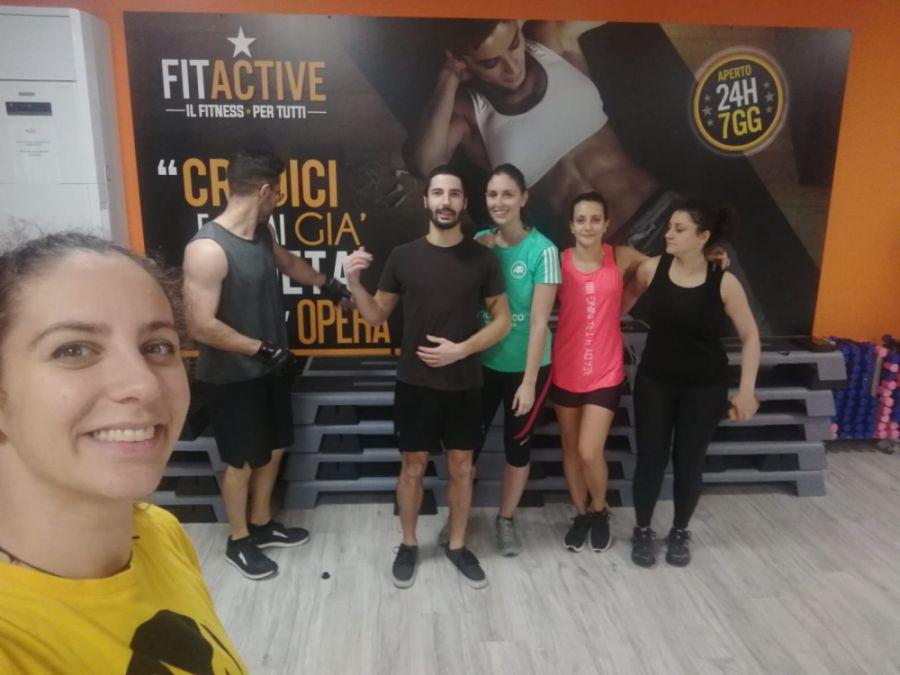 ragazzi progetto CNR e Matrix Fitness Italia