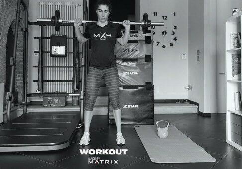 Elisa Balsamo workout