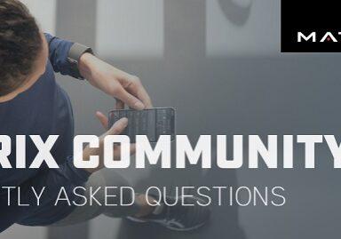 faq community app matrix